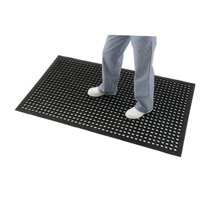 Rubber Anti-Fatigue Mat Black