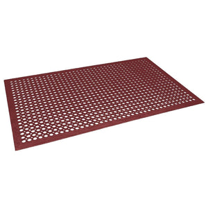 Rubber Anti-Fatigue Mat Red