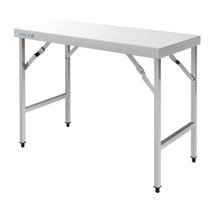 Vogue Stainless Steel Folding Table 1800mm