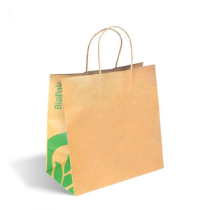 JUMBO TWIST HANDLE KRAFT PAPER BAGS
