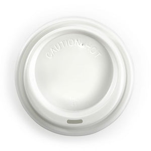 90MM PS WHITE LARGE LID