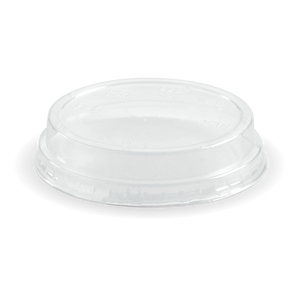 60-280ML CLEAR DOME NO HOLE LID