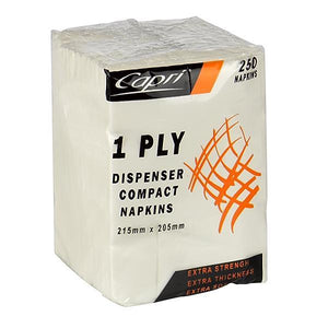 Dispenser Napkin Compact D Fold 1ply