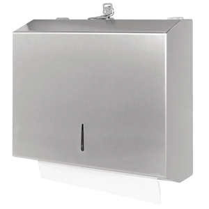 Stainless Steel Slimline Paper Towel Dispenser