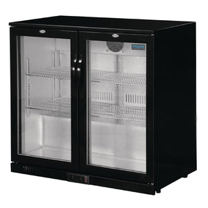 Polar G-Series Counter Back Bar Cooler with Hinged Doors 208Ltr