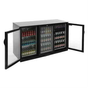 Polar G-Series Counter Back Bar Cooler with Hinged Doors 330Ltr