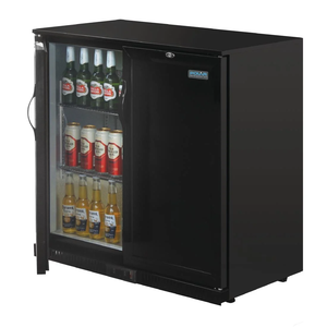 Polar G-Series Counter Back Bar Cooler with Solid Doors 208Ltr