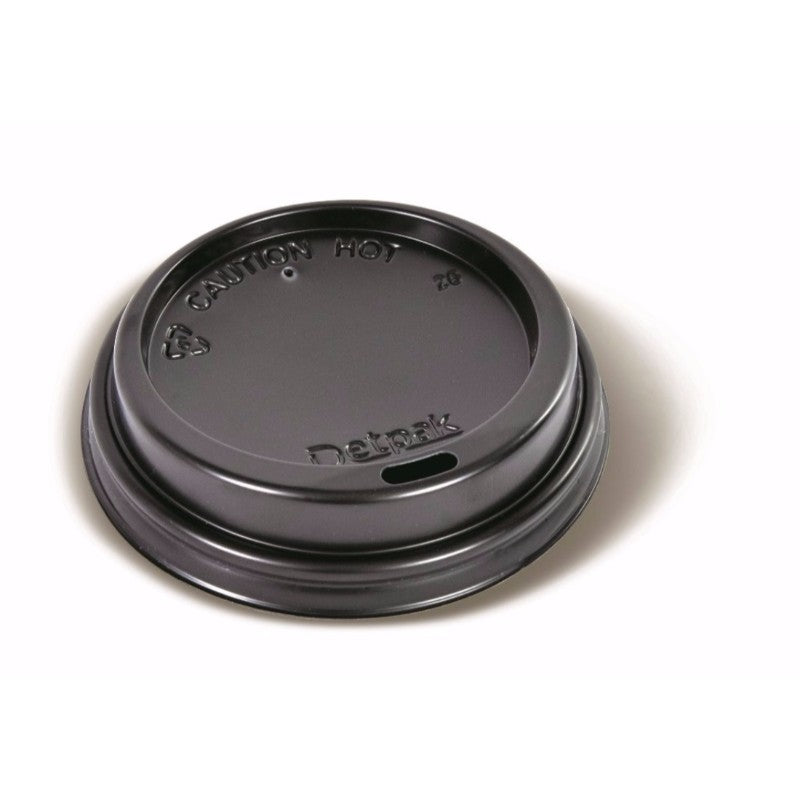 Lid Black Ripple Cup 8-16oz