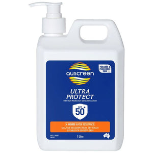 Auscreen Sunscreen SPF 50+ 1 Litre
