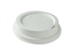 Triple Wall Coffee Lid White