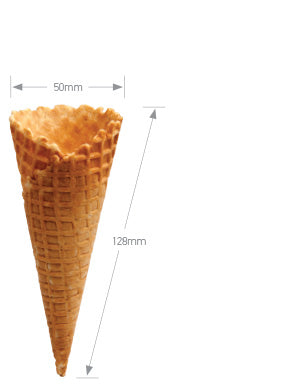 Altimate Natural Waffle Cone A