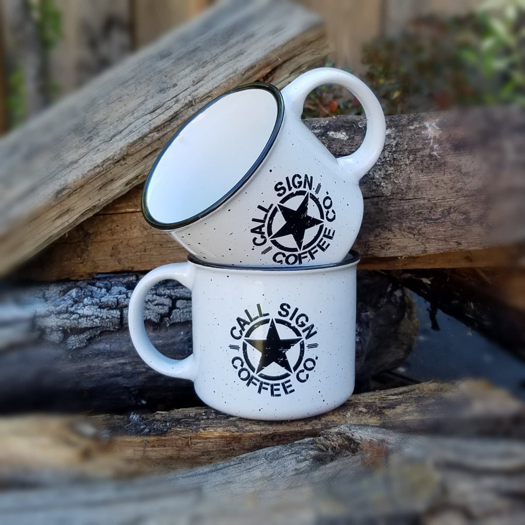 Set of Two Campfire Coffee Mugs