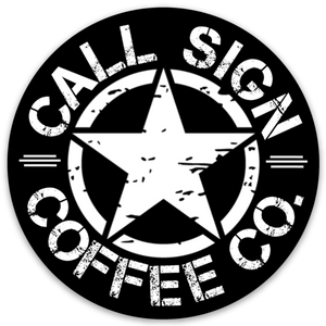 "Call Sign CC Logo, 3"" X 3"" Decal"