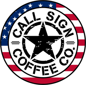 "Stars & Stripes Call Sign, 3"" X 3"" Decal"