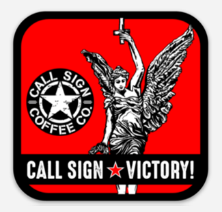 Call Sign Victory Decal