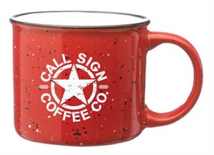 Red Campfire Coffee Mug