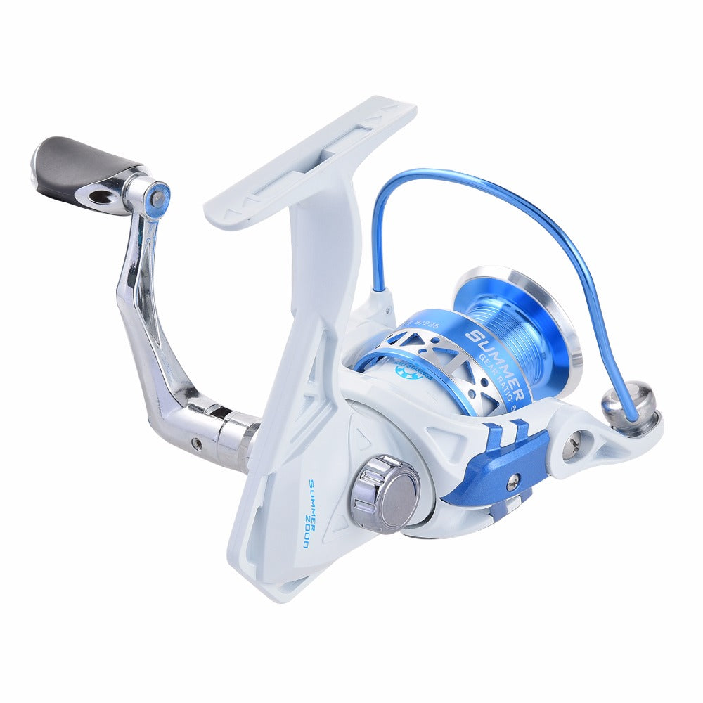FISHING REEL : 2000,3000,4000,5000 Series  Spinning Fishing Reel .  Max Drag 9KG .