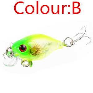 CRANK HARD LURE .  Comes with a triple hook attached. 4.5 cm long and 4 gms in weight. 1 Piece per package.