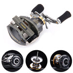 FISHING REEL. Right/Left Fishing Reel 18+1BB Ball Bearings carbon