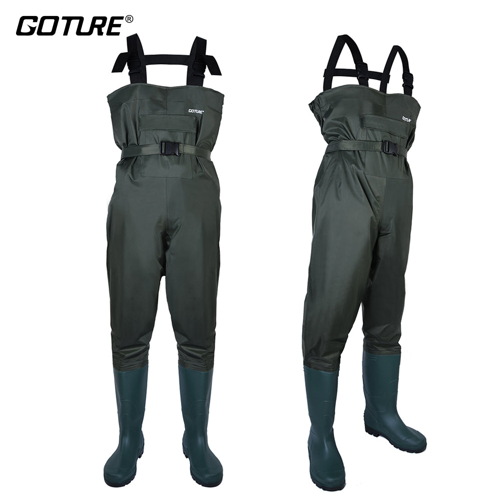 Unisex fishing waders - breathable