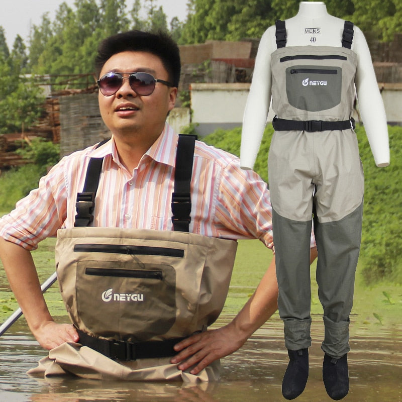 Neygu mens fishing waders for wading shoes hunting wader of wader boots winter waders for upstream shoes
