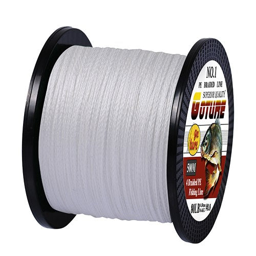 PE Braided Fishing Line 4 Strands Super Strong