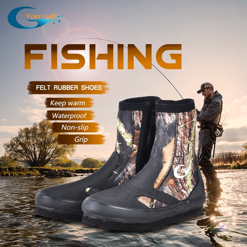 Non-slip Fishing Shoes Camouflage