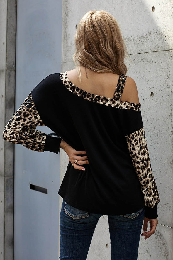 Sweet Spot Leopard Shift Top - Party Girl Fashion Exclusives