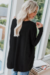 Black Red Lipped Oversize Zipped Top - Party Girl Fashion Exclusives