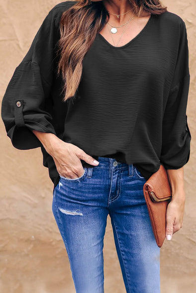 Black On Melrose Blouse - Party Girl Fashion Exclusives