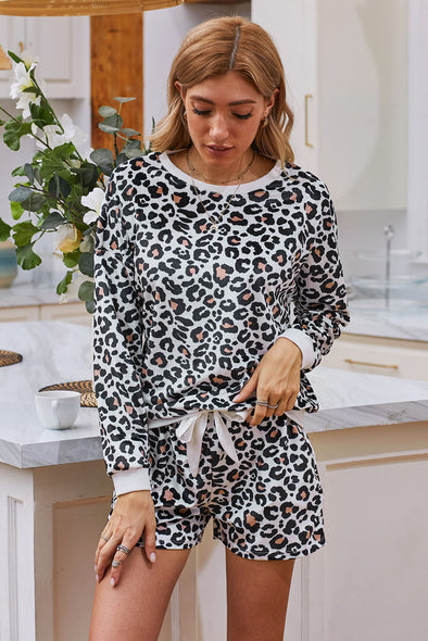 Leopard Pajamas Set - Party Girl Fashion Exclusives