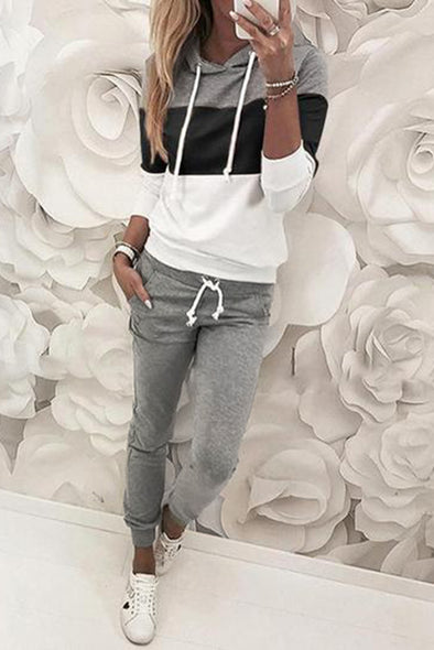 Black Hooded Top & Pant Set - Party Girl Fashion Exclusives