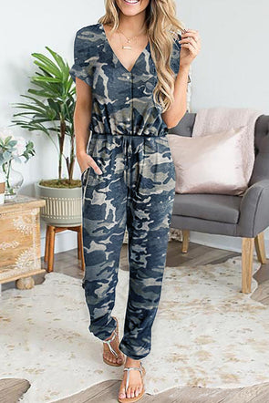 Camo Print Jumpsuit - Party Girl Fashion Exclusives