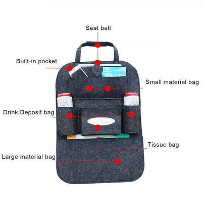 Car Seat Bags Automobile Accessories
