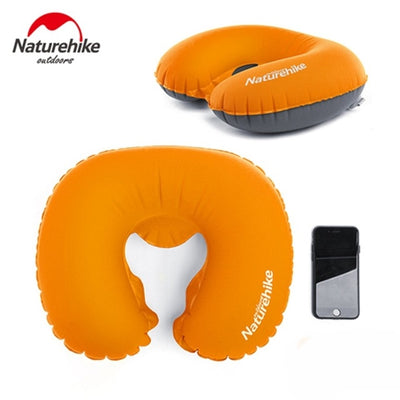 Portable Inflatable Pillow Camping Sleeping Outdoors Air