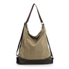 Canvas Women Bag Casual Messenger Bags Tote Hobo Buckets Designer Brand Vintage Fashion Women's Crossbody Bag Shoulder Handbags - IAmshopmall