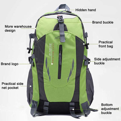 Large Capacity Hiking Backpack Climbing Sports Backpacks