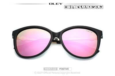 Women Sunglasses Fashion polarized HD Lens - IAmShopMall