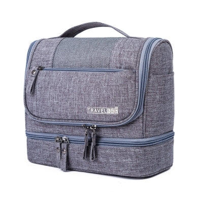 1e7f71599800 Travel Makeup bag 2018 Professional Vanity cosmetic Bag. Travel organizer  bag Large. capacity Multifunction travel toiletry bag For Men Women.