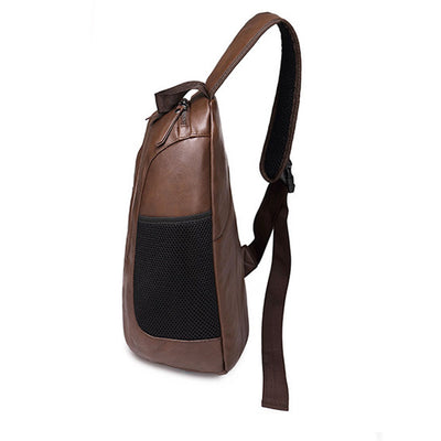 Crossbody Bags 2018 Men's PU Leather Vintage Travel. - IAmShopMall