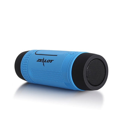 Bluetooth Speaker Portable Outdoor/Indoor LED Flashlight