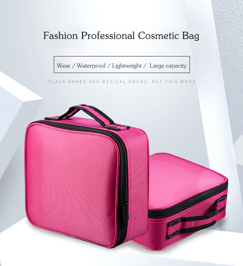 be3c53a59f49 Travel makeup bag 2018 Professional Vanity Cosmetic Bag Travel Hanging.  Travel organizer bag Large. capacity Multifunction travel toiletry bag For  Men ...
