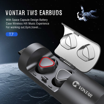 Earphone Bluetooth Headphones With Hands-Free Headsets