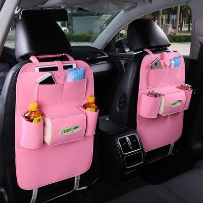 Organizer Car Seat Bags Automobile Accessories Car Styling Hanging Bags Baby Shopping Cart Cover Car Seats Back Seat Pockets - IAmShopMall