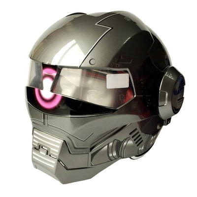 Full face helmet Iron Man for Unisex - IAmShopMall