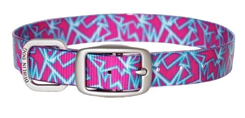 Dublin Dog KOA Shattered Pink Collar