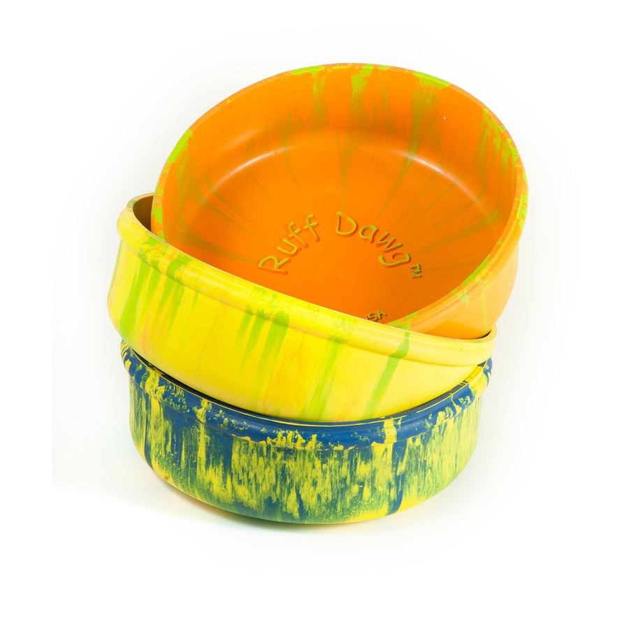 Ruff Dawg Rubber Bowl