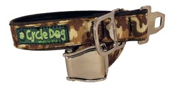 Cycle Dog Brown Camo Adjustable Collar