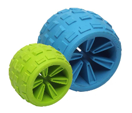 Cycle Dog High Roller Plus Ecolast Rubber Toy-Large