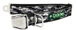 Cycle Dog Snow Camo Adjustable Collar